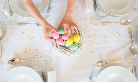 Easter Lunch Buffet with Choice of Drinks for Two at Rosewater, Jumeirah at Etihad Towers