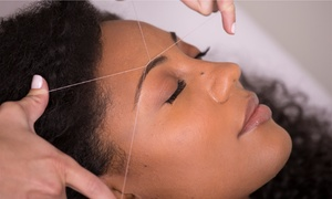 Shine Threading and Beauty Salon: Eyebrow Threading and Tint at Shine Threading and Beauty Salon, Two Locations (40% Off)