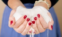 Gel Manicure with Optional Cluster Lushes, or Eyebrow Wax with Eyelash and Brow Tint at Chantelle at Reflect