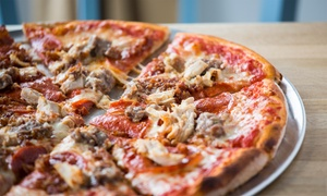 Lucca Bar and Kitchen: Pizza, Pasta, Risotto or Burger Meal with Side or Garlic Bread for Two or Four at Lucca Bar and Kitchen (Up to 46% Off)