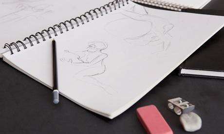 Cursos y talleres de dibujo y arte creativo para 1 o 2 personas desde 14,90 € en Artífex