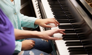 River Studios: 30-Minute or 60-Minute Singing, Piano or Drums Lesson at River Studios
