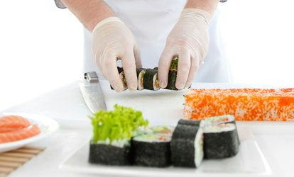 image for Sushi Making Class with Refreshments for One or Two at London Cookery School (Up to 65% Off)
