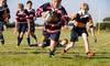 Lezioni di rugby per bambini