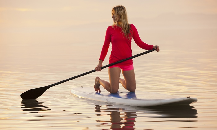 Windsurf Inc. - Windsurf Inc.: Full-Day Stand-Up Paddleboard Rental or Full-Day Kayak Rental for One or Two at Windsurf Inc. (50% Off)