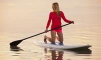 Actividad de paddle surf para 2, 4 o 6 personas con monitor desde 19,90 € en Bastisurf