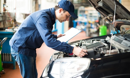 52-Point Car Check with Oil and Filter Change at AHC Autos (65% Off)