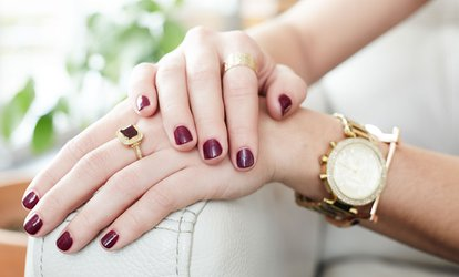 image for One or Two <strong>No-Chip</strong> Vinylux <strong>Manicures</strong> or One Vinylux Mani-Pedi at Quince Spa (Up to 40% Off)
