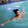 Bain à remous et sauna infrarouge