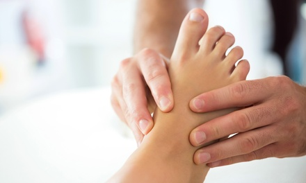 Raymond Nash Foot Examination and Consultation at Happy Health Clinics