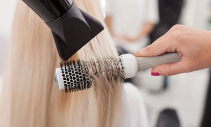 image for Cut and Blow-Dry with Half Head Of Highlights or Full Head Of Colour at Nu-Wave Laser & Beauty (60% Off)