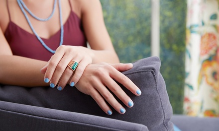 Vegan-Friendly: Gel Manicure ($25) or Gel Pedicure ($35) at Niche Nail Bar (Up to $70 Value)