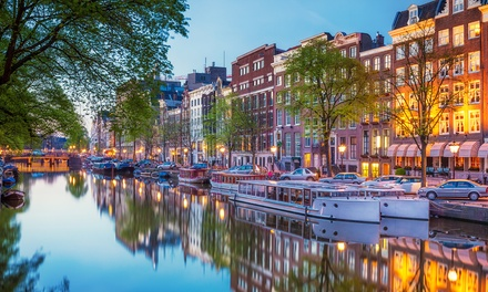 ✈ Amsterdam: 24 Nights at Choice of Hotels with Return Flights and Optional Canal Cruise and Van Gogh Museum Tour *
