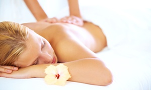 Angel's Natural Massage: $45 for a 90-Minute Pamper Package for One ($45) or Two People ($89) at Angel's Natural Massage (Up to $210 Value)