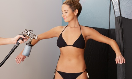 One or Two Custom Airbrush Spray Tans at Heidi's Suite (Up to 39% Off)