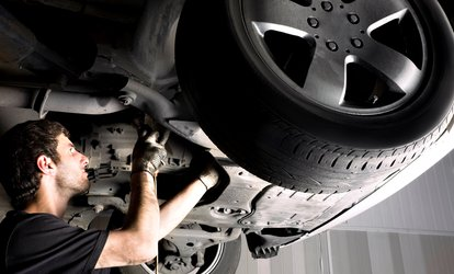 image for Smog Check and Brakes for One or Two Axles at San Diego Fast Smog (Up to 54% Off)