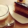 Coffee and Cake or Brioche Sandwich