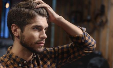 Pacchetto capelli, lampada, barba