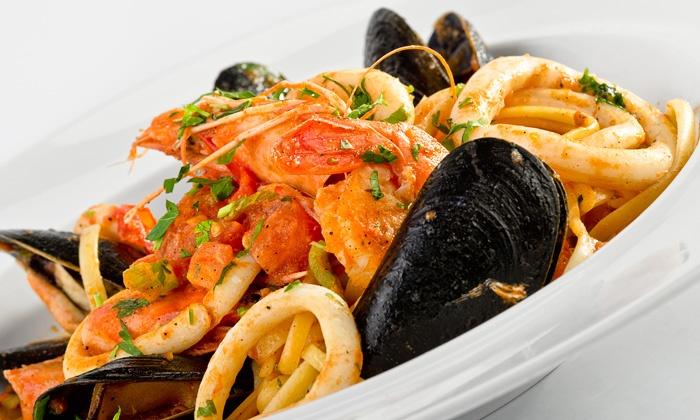 Tre Scalini Ristorante - Wooster St. New Haven:  $25 for $40 Worth of Italian Cuisine at Tre Scalini Ristorante