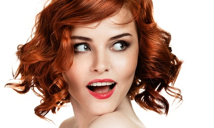 Haircut with Option of Partial Highlights, or Blowout Package at Tóc Hair Studio Akademy (Up to 63% Off)