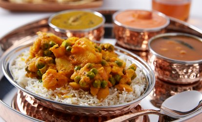 Two-Course Indian Meal for Two or Four at Blue Rupee (Up to 50% Off)