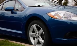 Euro Impact: Lavaggio auto a mano, pulizia degli interni ad estrazione più sanificazione all'officina Euro Impact (sconto fino a 68%)