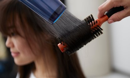 Wash and Blow-Dry, Root Colour and Blow-Dry or Five Blow-Dries at Urban Beauty Ladies Salon