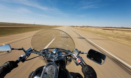Curso para obtener el carné de moto A1 o A2 con 5 o 7 prácticas desde 39,90 € en 3 centros Driverschool