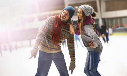 image for Ice Skating and Skate Rental for Two or Four at Kansas City Ice Center (50% Off)