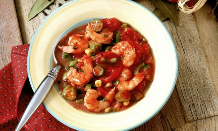 Cajun Cuisine at Knotty Pine on the Bayou (Up to 41% Off). Two Options Available. Must Reserve Table on Groupon.