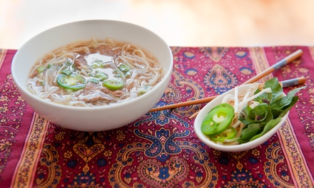 TwoCourse Vietnamese Meal for One $14 or Two People $28 at Andaqua Vietnamese Restaurant Up to $54 Value