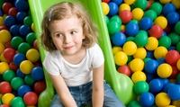 2, 3 ou 4 entrées au Kids Park avec bonbons, eau et crêpe ou formule entrée avec repas, dès 14,90 €