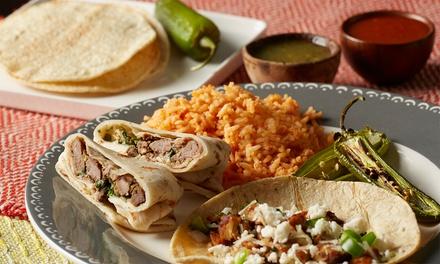Gemischte mexikanische Platte mit Burritos, Enchiladas, Tacos & Co. für 2 bis 6 Pers. bei Mr. Taco (bis zu 32% sparen*)