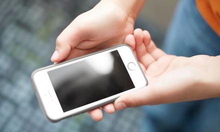 Cambio de cristal templado y funda protectora para iPhone por 7.95 € en 9 Tiendas Fix