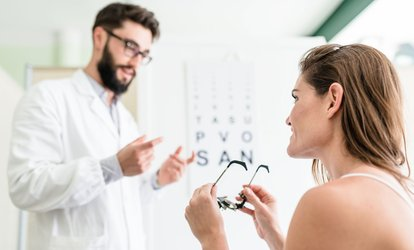 Eye Exam and Complete Pair of Prescription Lenses and Frame at Oviedo and Port St. John Eye Care (Up to 77% Off)