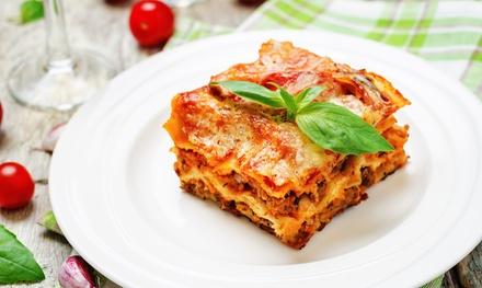 Lunch italien et vegan en 2 services chez Récollets à Anvers dès 2 personnes