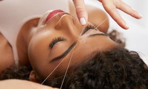 Seva Beauty: Eyebrow Threading with Optional Lip and Chin Threading at Seva Beauty (Up to 44% Off)