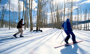 Granite Gorge: Cross-Country Skiing Day Pass for One or Two or a Season Pass at Granite Gorge (Up to 12% Off)