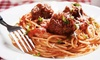 Cafe Cafe - Downtown Santa Fe: Italian Cuisine for One or Two or for Carryout at Cafe Cafe (Up to 50% Off)
