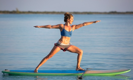 Paddleboard Yoga: 3 Classes for 1 ($15) or 2 Ppl ($30), or 5 Classes for 1 ($19) or 2 Ppl ($38) @ Yoga Inspired By Water