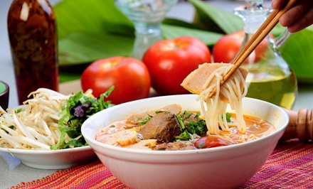 $17 for $25 Worth of Vegan Comfort Food for Two at The Happy Bamboo