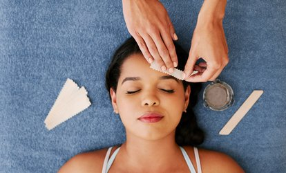 Full Set of Eyelash Extensions with Optional Eyebrow Shape and Tint at Iconic Hair, Beauty & Nails Salon (Up to 29% Off)