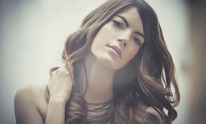 Passion Hair: Cut, Blow-Dry and Colour or Highlights with Optional Conditioning Treatment at Passion Hair (Up to 64% Off)