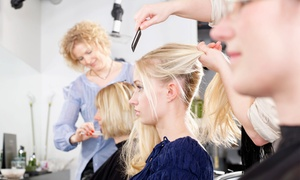 Outcast: Cut and Finish Including Consultation and Shiatsu Head Massage at Outcast (Up to 67% Off)