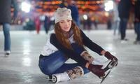 Acceso al Palacio de Hielo de Madrid para 2 o 4 personas con alquiler de patines y chocolate caliente desde 15,95 €