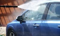 愛車のことはプロにお任せ≪手洗い洗車(ホイール、撥水シャンプー付き)+車内清掃/他1メニュー≫ @S.C.S style car ser...