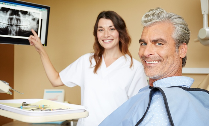 Dental Care Package with X-Rays for One ($59) or Two People ($115) at Advanced Dental, Cammeray