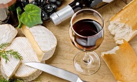 Bouteille de vin au choix par 2 pers. avec plateau de fromage, pain et amuse bouches chez VinoBelga à Aarschot