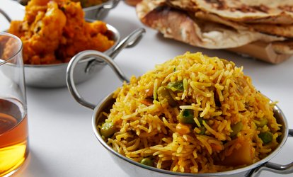 image for Indian Cuisine at Desi Turka Indian Cuisine (Up to 50% Off). Two Options Available.