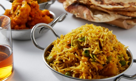 2Course Indian Lunch or Dinner with Soft Drink $29 or 4 People $49 at Curry Thieves Up to $104.40 Value